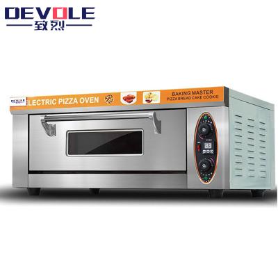 致烈(Devole)電烤箱商用 燃氣烤箱 新一層一盤大型烤箱 電熱大型披薩烤箱 面包 蛋撻 蛋糕 烘培大容量