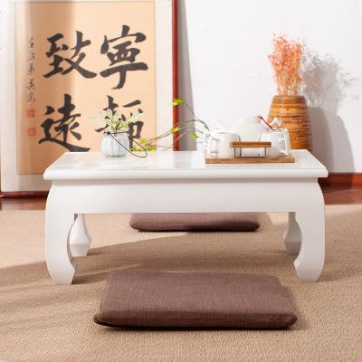 实木飘窗桌子榻榻米小茶几日式茶桌阳台卧室现代简约矮桌炕桌