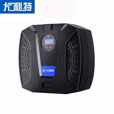 尤利特(UNIT)車載充氣泵便攜式小轎車汽車加氣泵電動車用輪胎多功能12V照明功能機械指針款 送補胎工具YD-371B