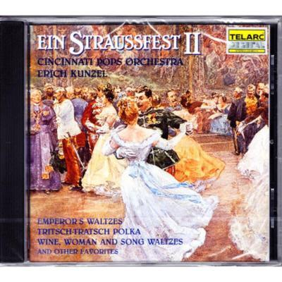 原版進口CD 斯特勞斯家族音樂2-紅衫仔2 發燒古典音樂試音碟