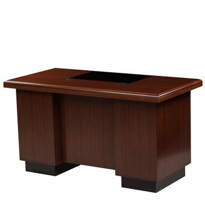 值惠牌實木中型辦公桌