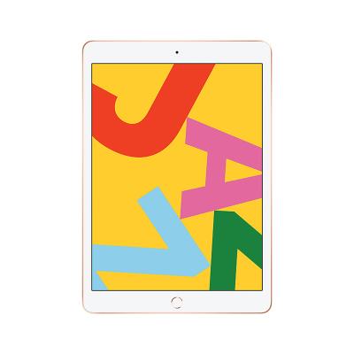 Apple 蘋果 iPad 第七代 2019年新款 128G WLAN(WIFI版)A10芯片 10.2英寸平板電腦 iPadOS系統 Retina顯示屏 MW792CH/A 金色