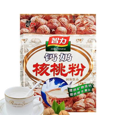 智力 鈣奶核桃粉600g(內含17小袋)沖飲早餐即沖即食學生中老年核桃粉