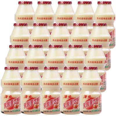津威牌乳酸菌饮料100ml*20瓶 彩膜包装