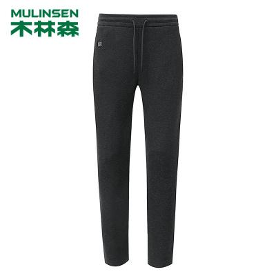 智能熱褲男女保暖膝蓋usb電熱充電加熱石墨烯冬季外穿長褲