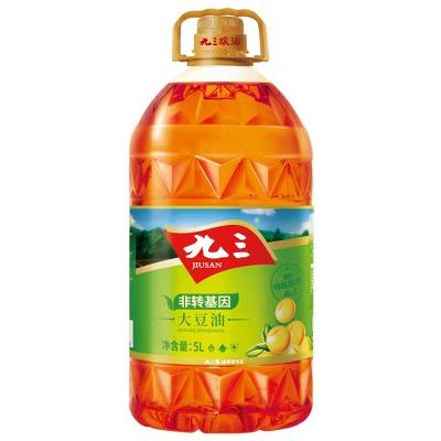 九三 三级大豆油 5L 非转基因食用油 东北大豆油 黑龙江特产新老包装