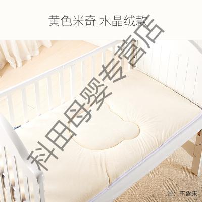 幼儿园床垫婴儿床垫被午睡儿童床褥子宝宝铺被四季通用垫子应学乐 米奇款-黄色 120*65