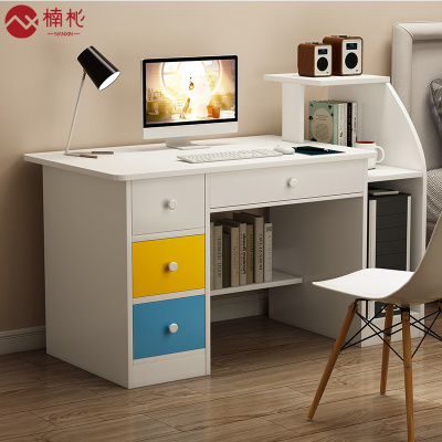楠杺 簡易桌子臺式電腦桌家用辦公桌簡約現代學生小書桌臥室學習寫字桌
