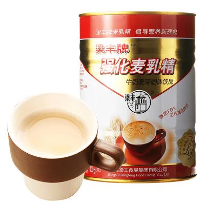 强化麦乳精400g 80后怀旧零食冲调冲剂香浓牛奶味