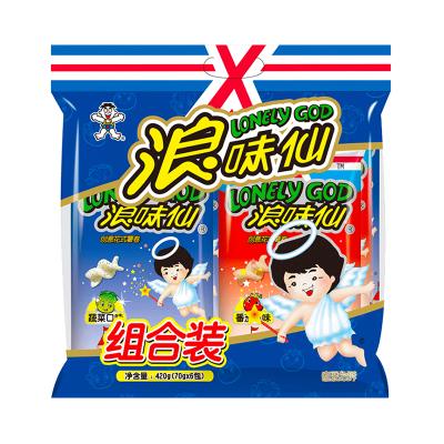 旺旺 浪味仙组合装420g(蔬菜味4包+番茄味2包)