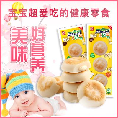 3袋一组!韩国进口 即食海味零食 客唻美奶酪原味鳕鱼饼36g 爆浆芝士 儿童辅食 低脂肪高蛋白 营养鳕鱼肠