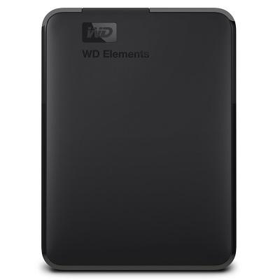 西部數據WD Elements新元素系列 2.5英寸 USB3.0 移動硬盤2TB(WDBUZG0020BBK)
