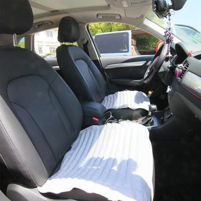 竹炭汽车坐垫竹炭透气除味除甲醛单座无靠背汽车坐垫