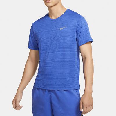 Nike/耐克正品男子2020夏季新款運動服跑步透氣休閑運動T恤CU5993-430
