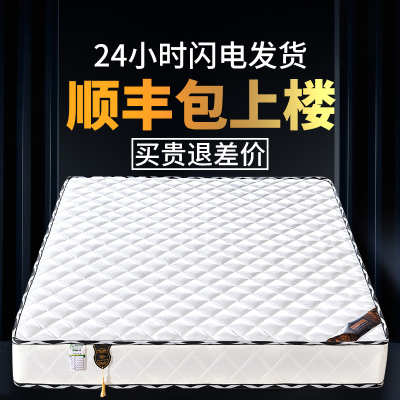 床墊軟硬兩用1.8m1.5米酒店雙人椰棕彈簧床墊經濟型20cm厚