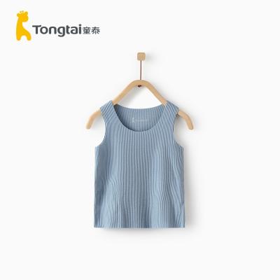童泰(TONGTAI)2020年新款夏季嬰兒衣服3-24月男女寶寶背心嬰幼兒無痕背心