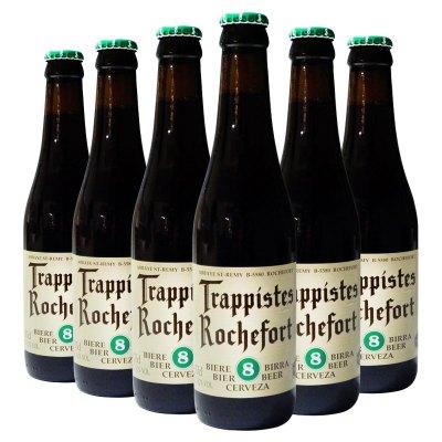比利時進口 精釀啤酒 Rochefort 羅斯福8號啤酒330ml*6瓶