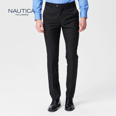 诺帝卡/Nautica秋冬新品商务正装直筒男士西裤