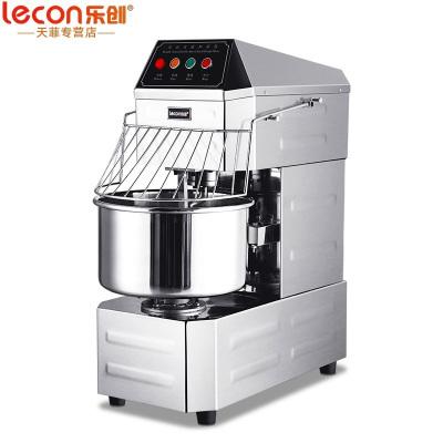 樂創(lecon) 和面機商用 100升雙動雙速和面機全自動 廚師機打蛋器面點機商用和面機鮮奶機攪拌機