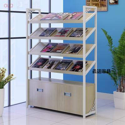 家具好货图书馆书架办公报刊架杂志架文件展示柜货架资料架家用书柜陈列架新款放心购601210