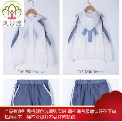 网红亲子装母女装洋气夏装高端母子装不一样的防晒衣一家三口图片件数为展示