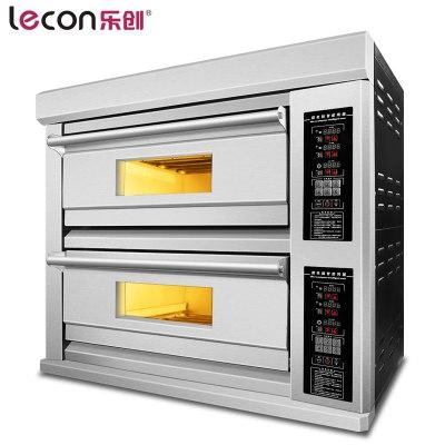 lecon/乐创洋博 KPO-2A 大型面包烤箱烤炉 二层二盘商用烤箱 电烤箱商用蛋糕披萨蛋挞烘炉 奶茶设备