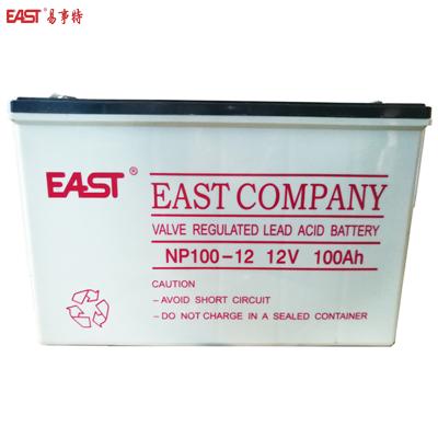 易事特 NP100-12 閥控式密封免維護鉛酸蓄電池