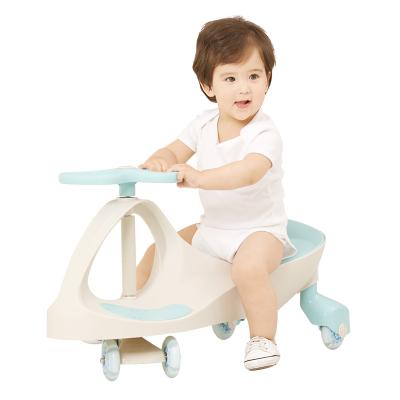 AING爱音健身车溜溜车摇摆车静音宝宝可坐玩具车防侧翻滑行车