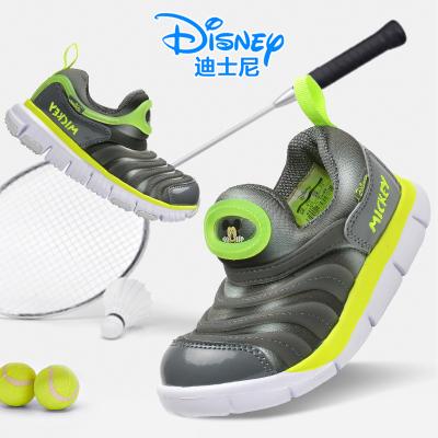 迪士尼童鞋毛毛虫鞋2019春季新款防滑透气休闲跑步儿童运动鞋