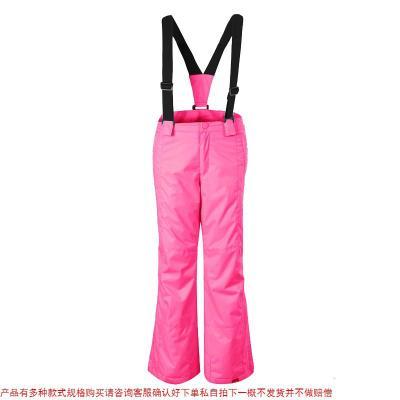 GS儿童滑雪裤背带裤男童女童防水裤保暖双单板雪地裤滑雪服雪裤子