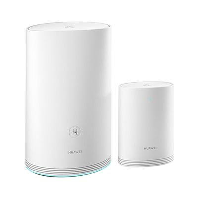 华为(HUAWEI)路由器Q2 pro(1母1子)新一代子母路由1200Mbps /全千兆/全户型高速WiFi覆盖/支持1拖15/无线穿墙路由器无线路由器