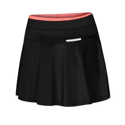 2019新款运动裤裙女夏羽毛球球健身瑜伽跑步半身短裙速干透气百褶裙中腰运动短裙 威珺