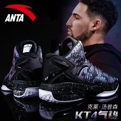 安踏篮球鞋男高帮2020春季新款球鞋汤普森KT战靴耐磨运动鞋男