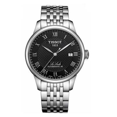 天梭(TISSOT) 瑞士手表 力洛克系列經典腕表 機械鋼帶男表 男士手表 機械表 男