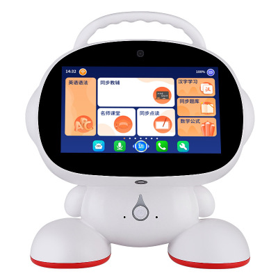童之聲(tongzhisheng)智能機器人學習機視頻通話7寸觸屏童之聲兒童早教機小學同步教材