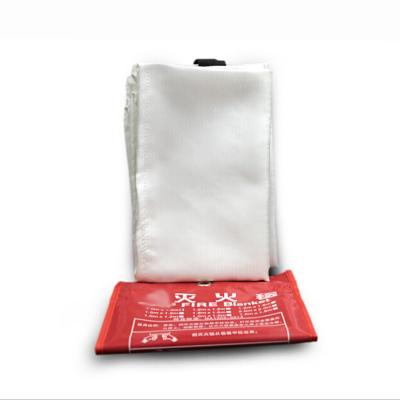 灭火毯消防安全毯应急逃生毯玻璃纤维绝缘隔热阻燃毯子应急防火毯1.5米X1.5米单层(张)