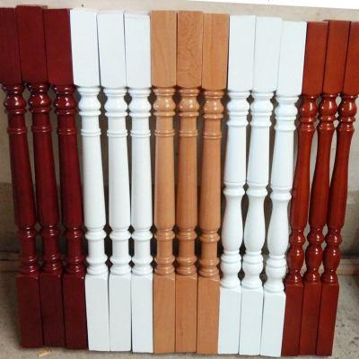 HOTBEE樓梯扶手實木欄桿室內歐式中式別墅木頭飄窗陽臺護欄簡約現代家用