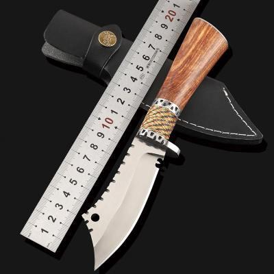户外刀具防身随身小刀开刃短刀战术特战军工刀特种军刀兵长款直刀