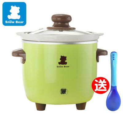 小白熊 BB嬰兒煲電粥鍋 寶寶煲粥鍋電燉鍋陶瓷內膽0.7L 嬰兒電飯煲HL-0627