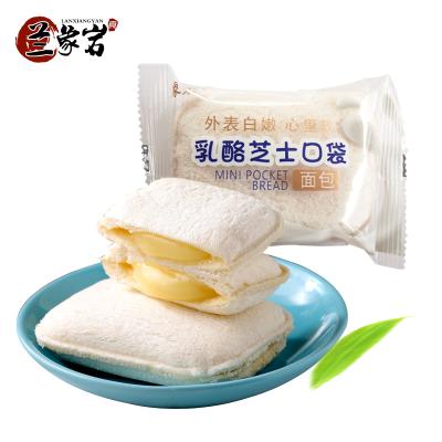 蘭象巖乳酪芝士大口袋面包乳酸菌夾心奶油面包早餐零食