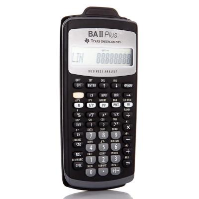 德州儀器TI BA II plus金融計算器BAII PLUS CFA一二級考試計算機