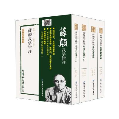 薛顛武學輯注(全四冊)