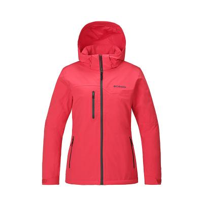 哥倫比亞(Columbia)戶外18秋冬新品女款保暖透濕沖鋒衣PL2820