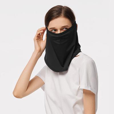 蕉下全護頸面罩女遮臉冰薄透氣遮陽圍巾夏戶外防曬面紗