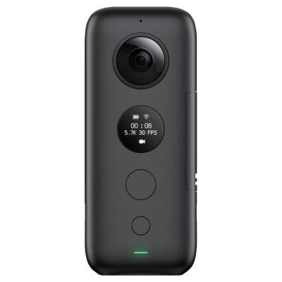 Insta360oneX 5.7K 360運動全景相機 陀螺儀防抖專業Vlog隱形自拍桿航拍旅游滑雪騎行潛水VR看房攝像