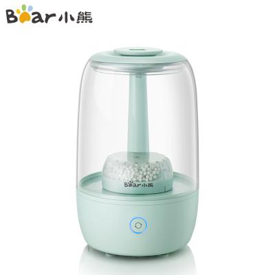 小熊(Bear)JSQ-B35A1 加濕器3.5L上加水透明水箱空氣加濕香薰機家用臥室迷你加濕器靜音孕嬰可用智能觸控