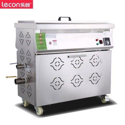 樂創(lecon) 100L全自動商用油炸鍋 燃氣油水分離電炸鍋單缸油炸爐炸油條機炸雞炸薯條機 大容量單缸