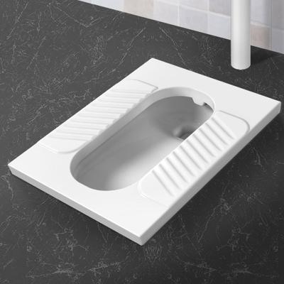 四季沐歌(MICOE)蹲便器陶瓷大便器防臭蹲廁整套蹲坑便池帶存水彎蹲便器