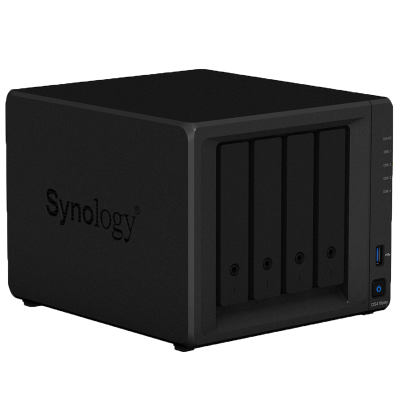 群晖 (Synology) DS418 Play 四 盘位 NAS 网络 存储 服务器 (无内置硬盘)