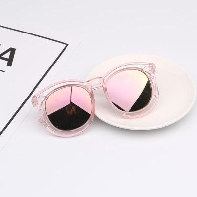 2-9岁儿童眼镜太阳镜男女童墨镜韩国防ZI外线眼镜宝宝太阳眼镜潮 臻依缘